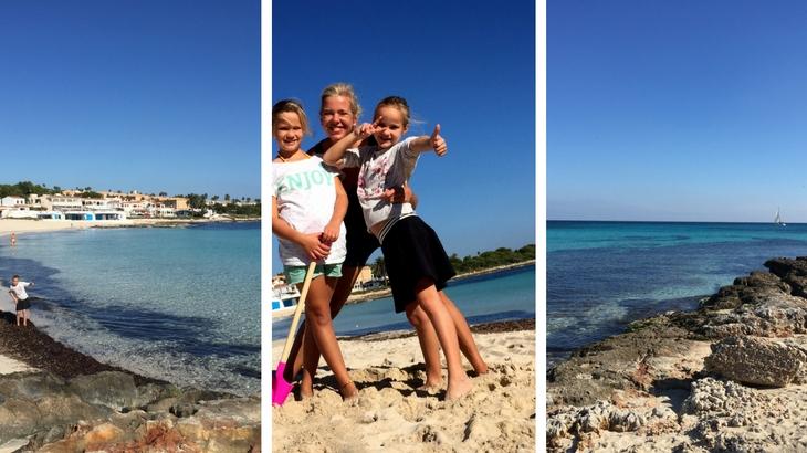 Menorca stranden: Punta Prima
