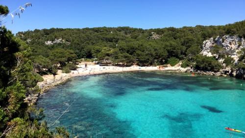 het beste strand van Europa Cala Macarella & Cala Macarelita