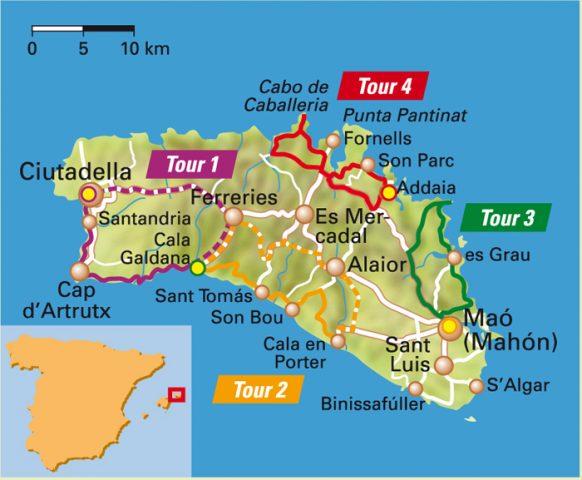 menorca mountainbike route