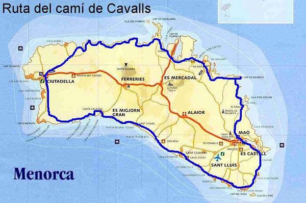 menorca mountainbike route MTB