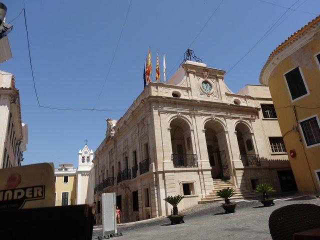 stadhuis mahon Menorca