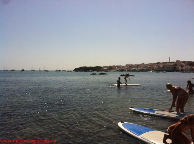 sup yoga menorca paddle surf