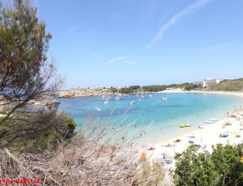 Menorca stranden: Arenal d'en Castell