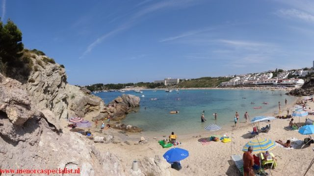 Strand Menorca: Arenal d'en Castell stranden Menorca