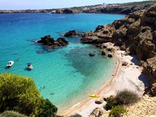 playa de SaLLosa Menorca