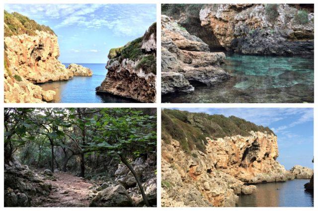 Cala Rafalet Menorca vakantie Menorca