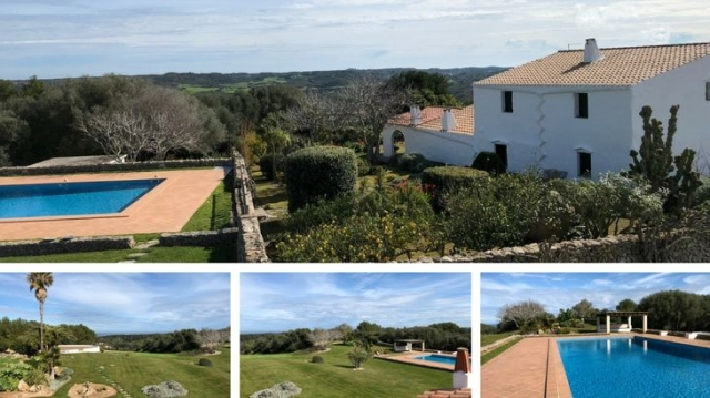 finca Menorca te huur vakantie