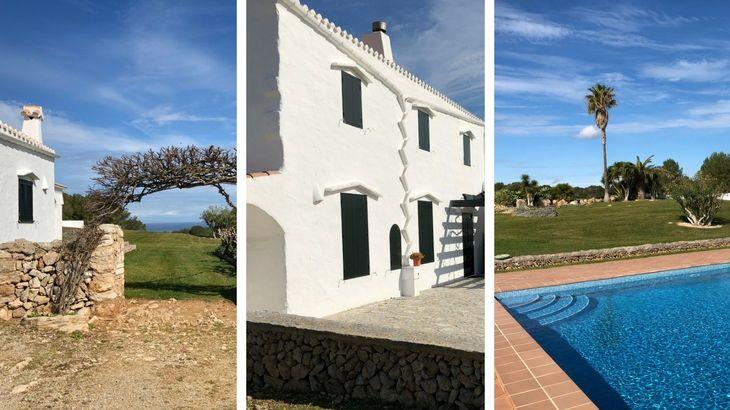 Fantastisch Menorcaanse Finca te huur op Menorca!
